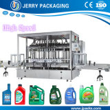 Barile dell'olio lubrificante & imbottigliatrice liquidi automatici