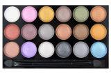 De Lablel da composição 18 da cor sombra confidencial do Shimmer ultra