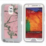 Samsung 은하 S4를 위한 Camo Orang 나무 변호인 예