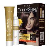 Teinture de cheveu permanente cosmétique de Tazol Colorshine (blonde foncée) (50ml+50ml)