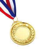 Medaglie di bronzo lucide su ordinazione dell'argento dell'oro olimpico di rivestimento da vendere