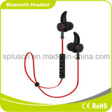 Ruído que cancela auscultadores sem fio com os botões estereofónicos da em-Orelha dos auriculares do microfone