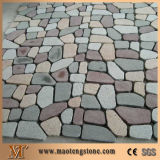 صوّان [بف ستون] على شبكة, طبيعيّ صوّان راصف, مكعّب حجارة