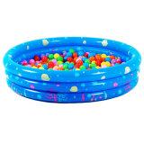 PVC o TPU piscina inflable para el bebé