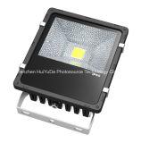Luz de inundação amarela do diodo emissor de luz da ESPIGA da cor 285*275mm 220V 50W
