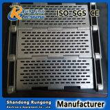 Tige de plaque/bande de conveyeur articulée de lamelles avec les plaques latérales ou les vols en travers
