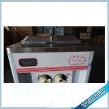 Congélateur de crême glacée de yaourt surgelé de 3 robinets