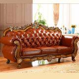 Meubles de salle de séjour avec le sofa et les Modules de cuir véritable