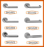 Traitement de porte matériel en acier de Stiainless