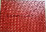 Piatto della fibra di vetro, comitato della plastica di rinforzo vetroresina, Kickplate. antiscorrimento di FRP