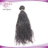 Cheveu cambodgien en gros bon marché tissant pour les paquets bouclés crépus
