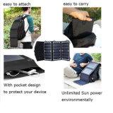 Vendas quentes 15W impermeável portátil que dobram o carregador solar