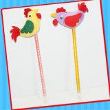 Игрушка пер Ballpoint цыпленка петуха новизны с конфетой