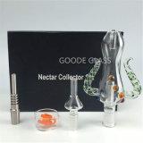 De Duidelijke Kleur van het Uiteinde van het Kwarts van de Uitrusting van de Collector van de Nectar van het Glas van Goode