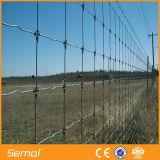 Frontière de sécurité galvanisée à haute résistance de ferme de bétail de joint de charnière pour la prairie