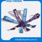 Logo remplaçable de coutume d'impression de bracelet de Tyvek de bracelets de divertissement