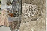 Tabella pranzante di vetro moderna di Seater di pagina d'acciaio 6 per corridoio pranzante