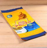 Flexibles Haustier-Fastfood- Kunststoffgehäuse-Nahrungsmittelbeutel mit Reißverschluss