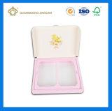 Rectángulo de empaquetado de papel duro de los nuevos productos de la alta calidad para los cosméticos (con la bandeja interna)