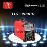 Machine de soudure de TIG d'inverseur de C.C d'arc MMA/Tigwelder (TIG-200PD)