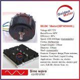moteur de 5kw BLDC/moteur électrique de motocyclette du nécessaire 48V /72V /96V BLDC de conversion de moto