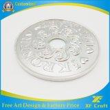 Monete d'ottone antiche su ordinazione di sfida del ricordo del metallo del fornitore (XF-CO02)