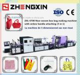 Bolso no tejido de la maneta del profesional que hace la máquina (ZXL-E700)