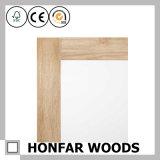 Frame gama alta do espelho da madeira contínua de Brown que molda para a casa de campo