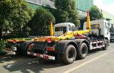 25 T 6X4 Dongfeng 무거운 수용량 훅 팔은 쓰레기 트럭을 복사한다