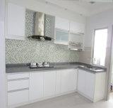 Nueva cabina de cocina de la chapa del PVC 2016