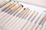 18PCS/Set de in het groot Make-up borstelt de Houten Reeks van de Borstel van het Haar van het Handvat Synthetische Kosmetische