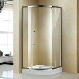 Chuveiro de quarto quadrante de banheiro com vidro temperado de 6 mm