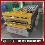 La feuille de tuile de toiture en métal laminent à froid former la machine 840