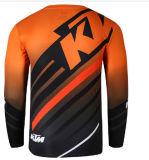 MX su ordinazione di Motorcross dei tessuti di maglia di sublimazione che corre la Jersey