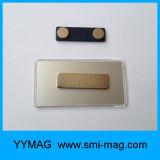 Het promotie Kenteken van de Naam van het Aluminium Opnieuw te gebruiken met Magnetische Rug