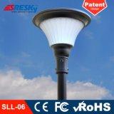 스테인리스 최고 밝은 LED를 가진 태양 에너지 정원 빛