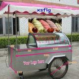 販売のための6 -8鍋のアイスクリームのカート