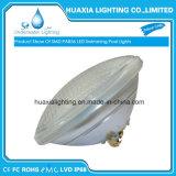 SMD3014 luz brilhante elevada da piscina do diodo emissor de luz PAR56, branco morno e RGB