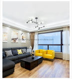 Salone di vetro moderno semplice creativo del fagiolo della lampada di retro illuminazione Pendant europea magica di stile
