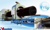 Chaîne de production électrique en plastique de pipe de HDPE ligne d'extrusion de pipe de faisceau de silicium