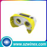 Impression faite sur commande de virtual reality en verre de Vr de lentille du carton V2 Vr de Google procurable toute couleur