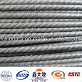 alambre de acero espiral del concreto pretensado de las costillas 1670MPa de 4m m