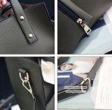 Saco de Tote macio compra em linha gama alta da bolsa das mulheres dos tipos da grande com Scarves e bolsa Sy8219