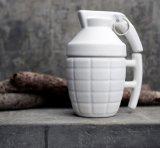 Tasses de café en céramique de cuvette de modèle de forme de grenade de nouveauté