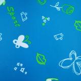 la mariposa 400d imprimió la tela para el bolso del recorrido de los estudiantes de colmo menor