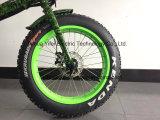 大きい力の大人のための脂肪質のタイヤ20inch折る山の電気自転車