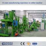 ゴム製粉の生産機械をリサイクルするタイヤ