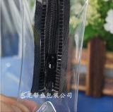 Sac de promotion en PVC respectueux de l'environnement avec fermeture à glissière en nylon