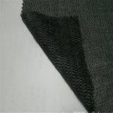 120GSM Bi-Allungano i vestiti uniformi fusibili tessuti che spazzolano scrivere tra riga e riga di collegamento del tessuto