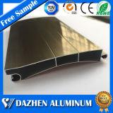 Perfil modificado para requisitos particulares del aluminio de la puerta del obturador del rodillo/de aluminio de la protuberancia con la oxidación